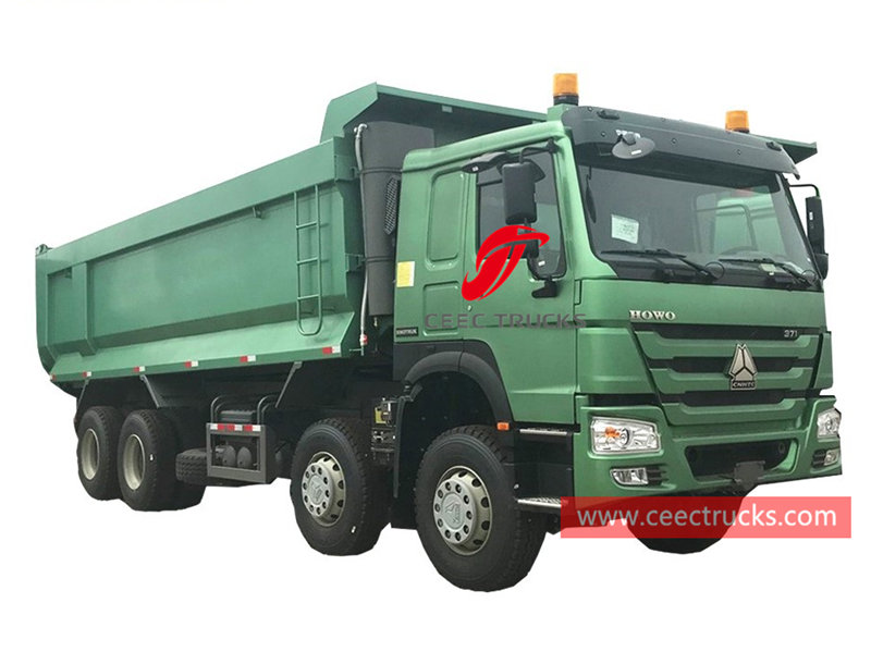 HOWO 8×4 tipper lorry