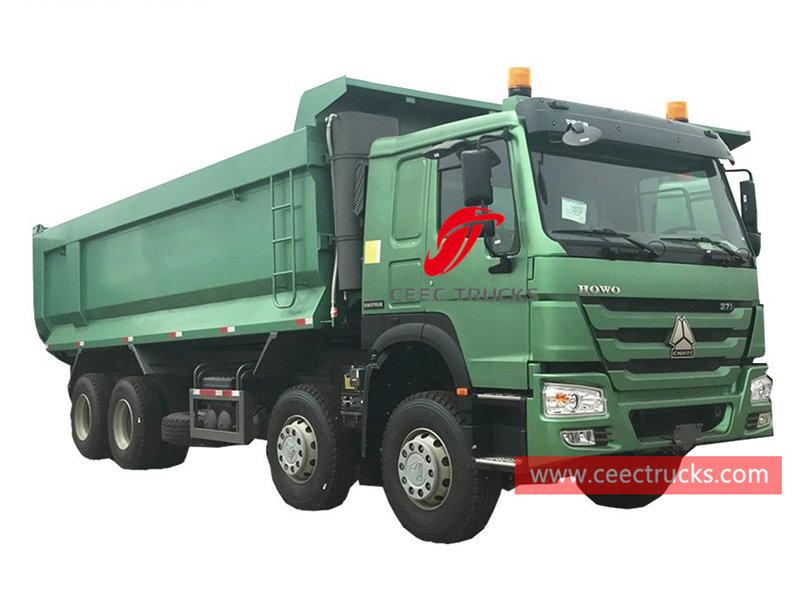 HOWO 8×4 tipper lorry