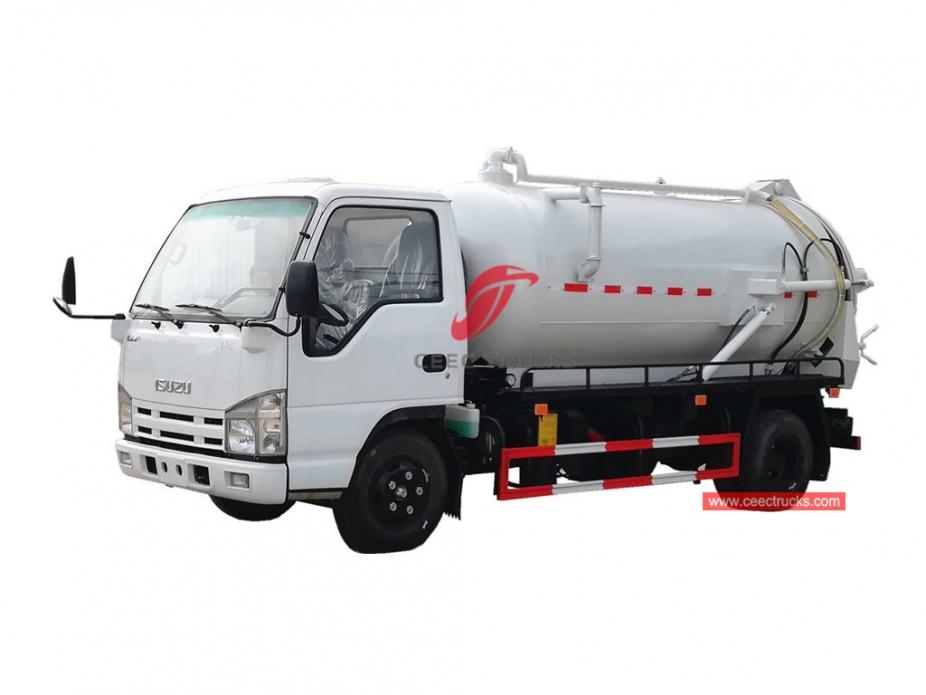ISUZU vacuum truck