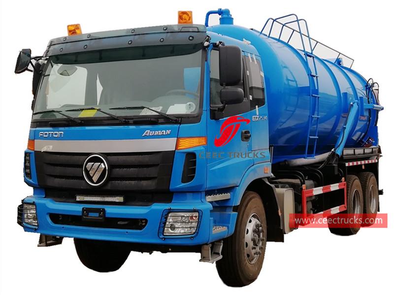 FOTON 20,000 liters sewage sucker truck