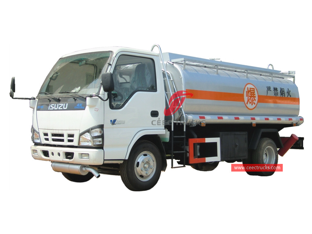 ISUZU 5,000 Liters fuel bowser