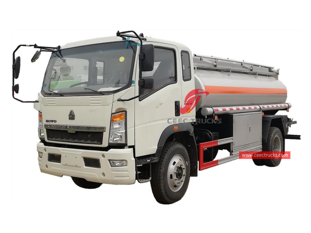 HOWO diesel tanker truck