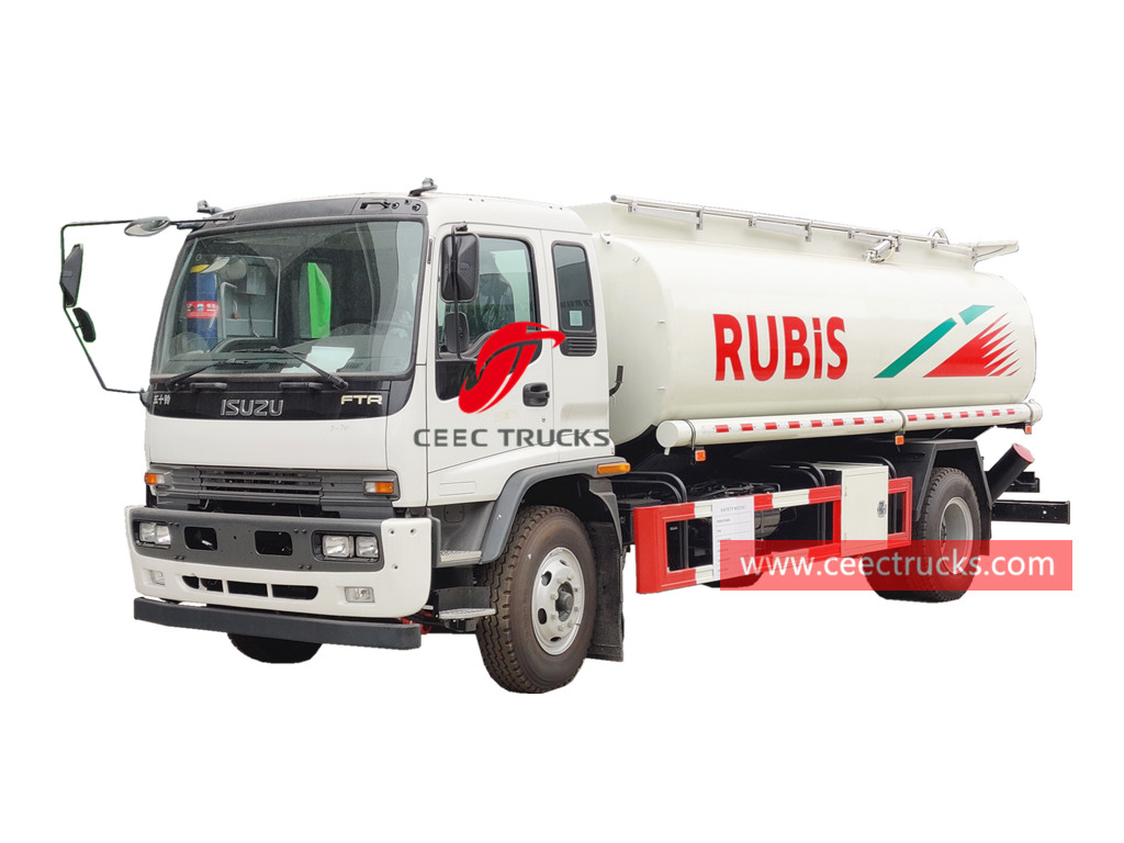 ISUZU FTR Diesel tanker truck