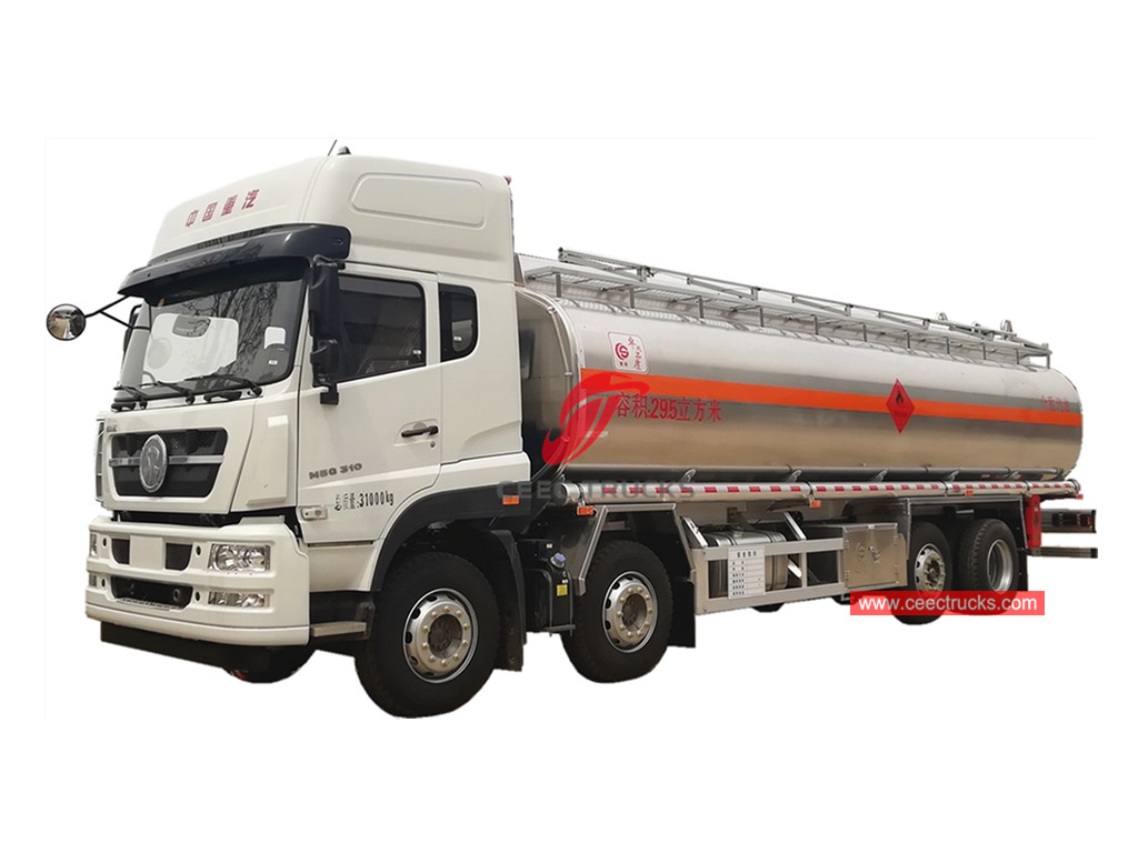 HOWO 8×4 oil transportation truck