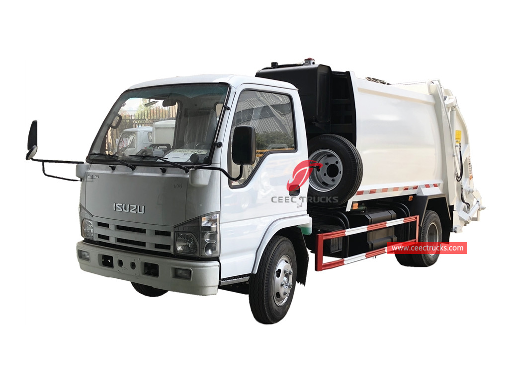ISUZU 4CBM garbage compactor