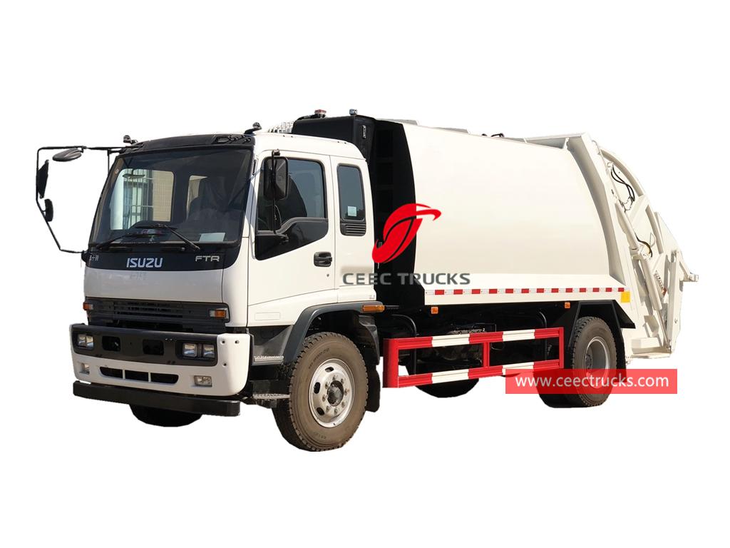 ISUZU FTR waste compressor truck
