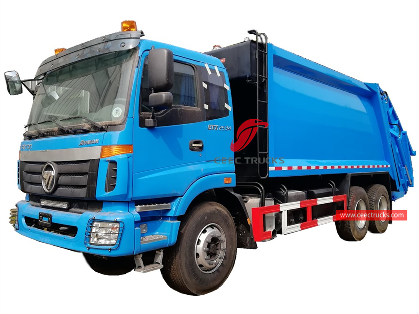 FOTON 6×4 trash compactor truck