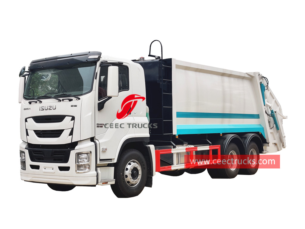 ISUZU GIGA refuse compressor truck