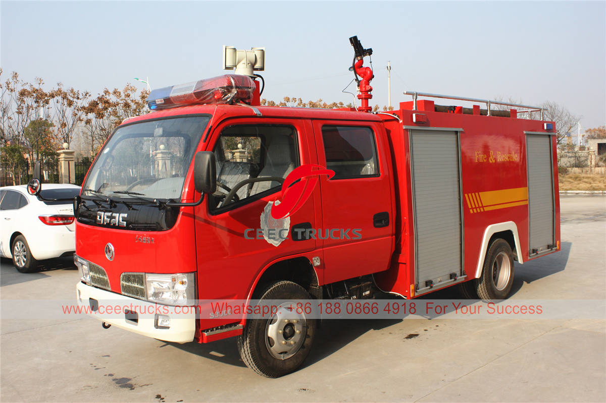 Dongfeng 3,000 liters fire lorry