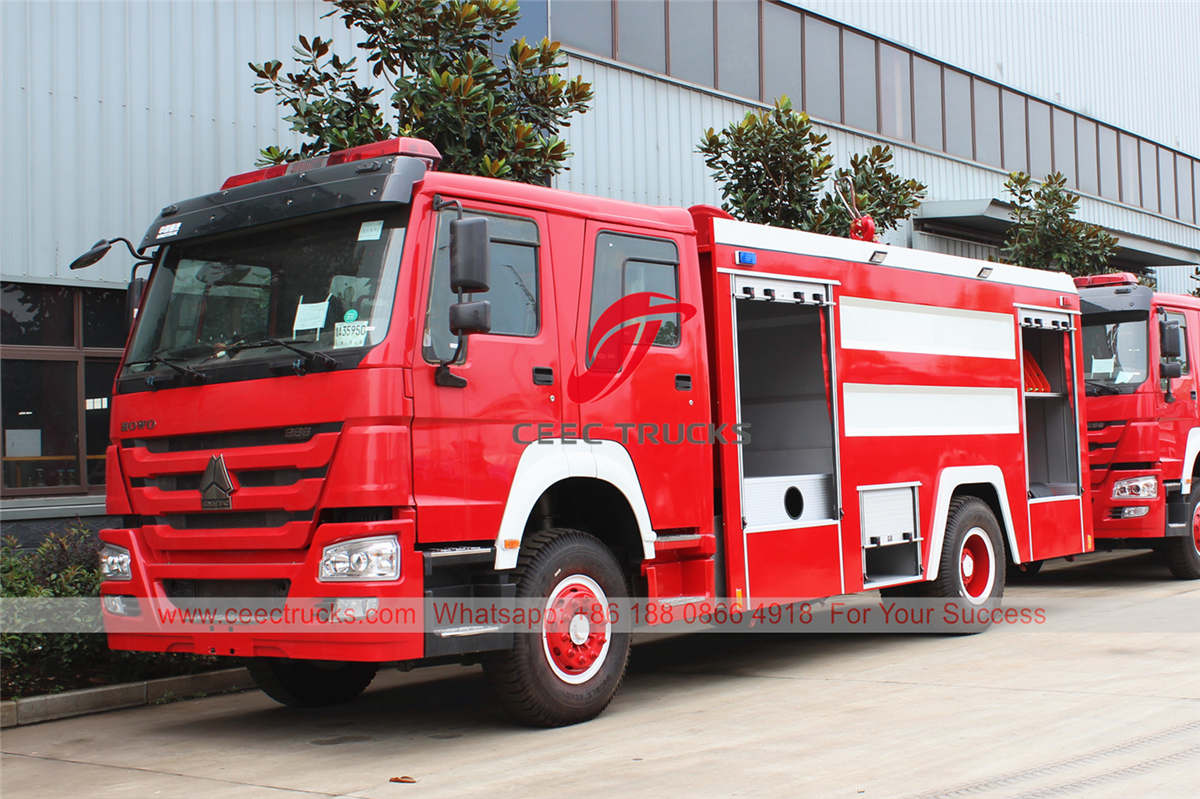 High quality HOWO fire truck