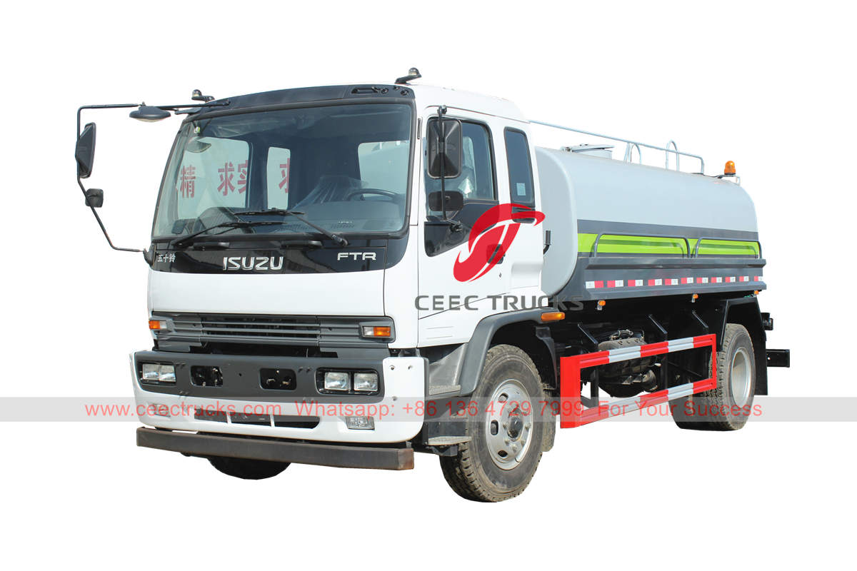 ISUZU FTR water bowser on sale