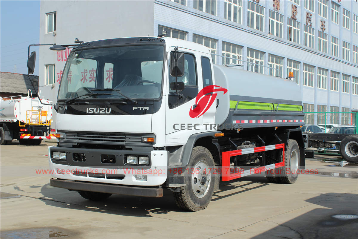 ISUZU FTR water bowser on special promotion