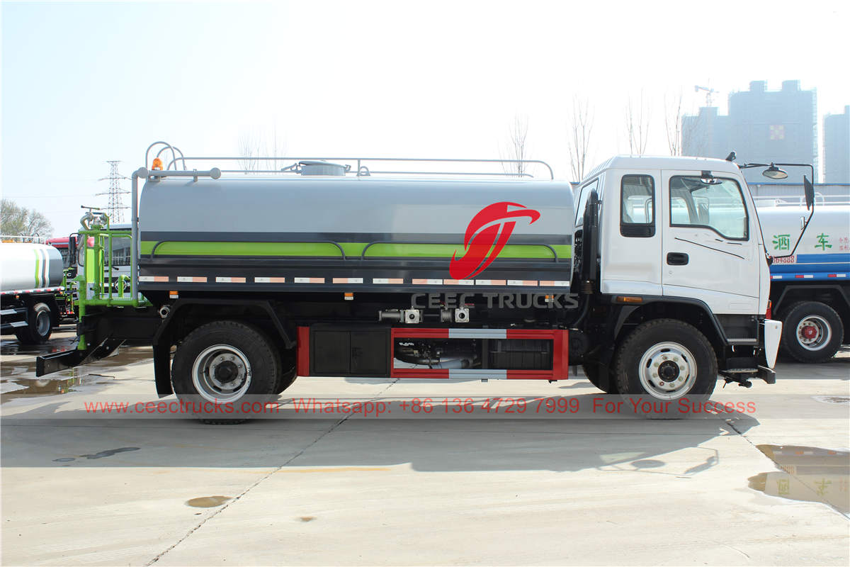 Best price ISUZU FTR water truck