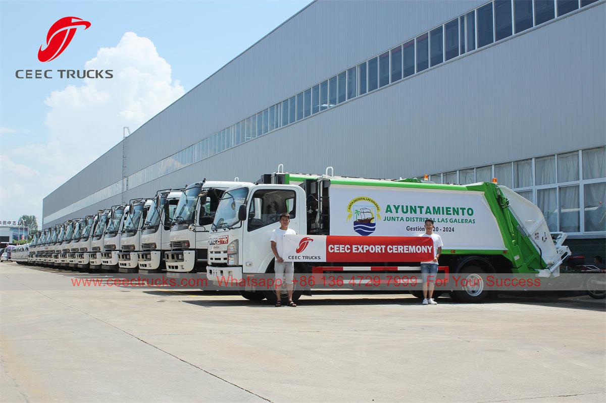 ISUZU garbage compactor manufacturer