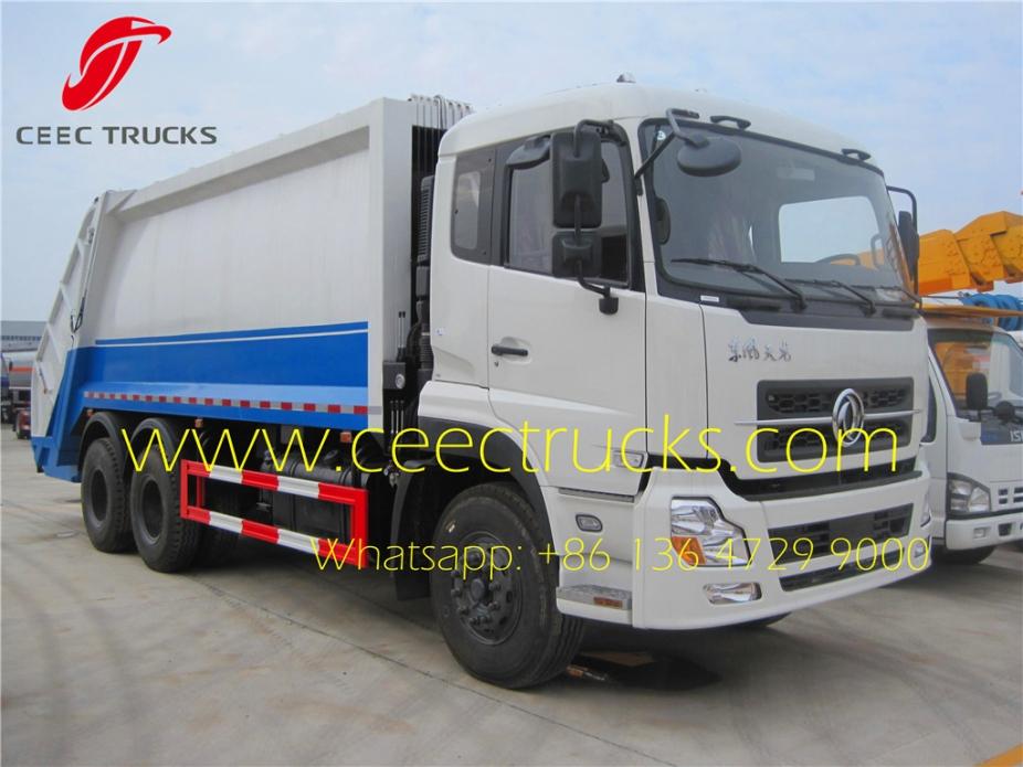 Hot Sale 20 Cbm Compression Refuse Truck Truck Garbage
