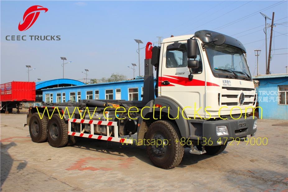 Hot Sale 16 T Hook Loader Truck Truck Garbage Compactor