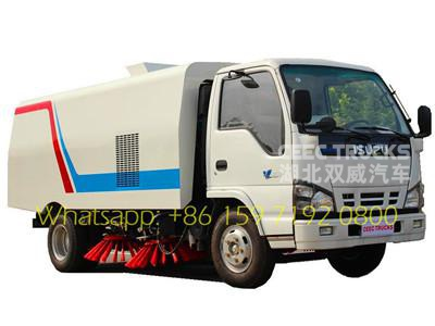 Manufacturer low price sale ISUZU 5CBM road sweeper