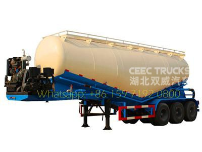 best 3 axle powder tanker semitrailer
