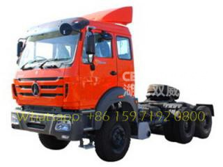 China NO.1 beiben 2638 tractor head supplier