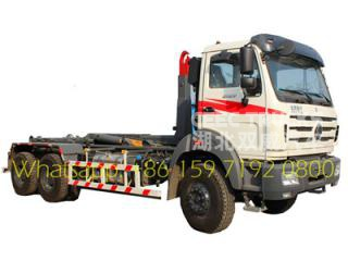 north benz 16 T container lifting garbage truck