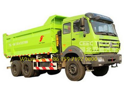 Best quality north benz 2538 tipper trucks manufacturer