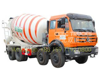 China best beiben 3138 transit mixer truck