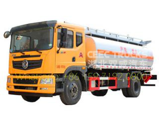 dongfeng 10000 liters fuel bowser truck