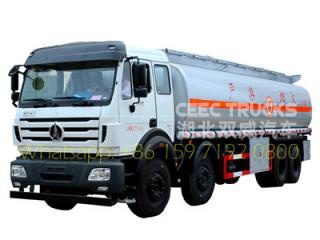 north benz beiben 40 CBM oil tanker truck