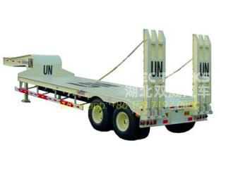 UN low bed semitrailer