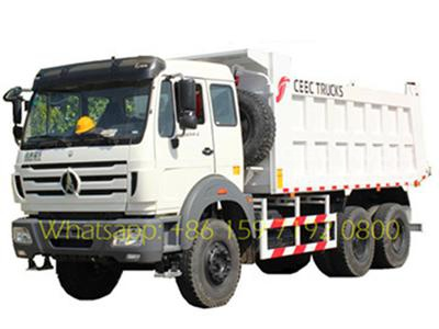 best beiben 50T tipper truck sale