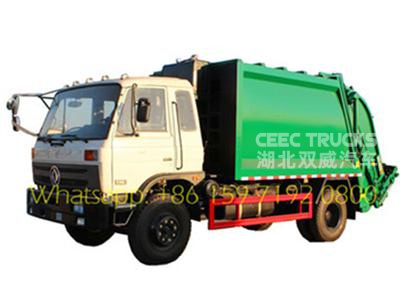 Togo 12CBM garbage compactor truck for sale