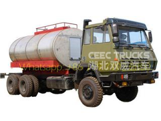Military 12 wheelers fuel tanker truck Shacman oil trucks supplier