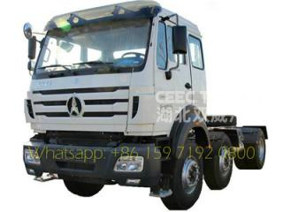China Trucks North benz trailer head Tractor Truck