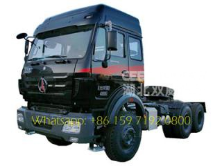 RHD Beiben truck head for Kenya