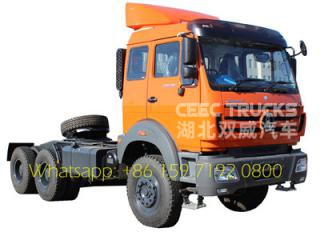 beiben 2538 RHD 380HP towing trucks export Kenya Mombasa