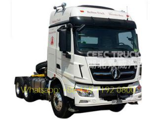 low price truck head beiben 2638 380hp prime mover