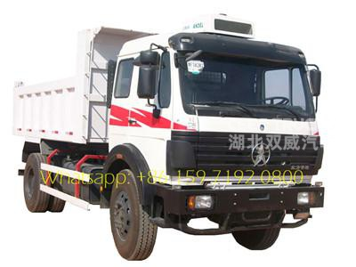 Beiben dump truck 1628K north benz tipper truck 30ton
