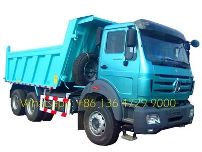 280hp tipper truck North benz 6x4 10 wheel strong dump truck 2628K