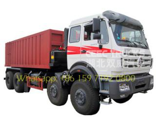 Beiben heavy truck of loading 50 tons tipper /dump truck