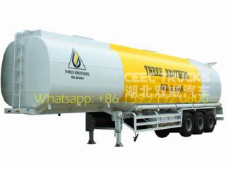 Heavy type 40000 liters fuel tanker semi trailer manufacturer