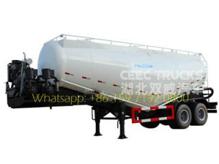 2016 design cement powder tank semitrailer