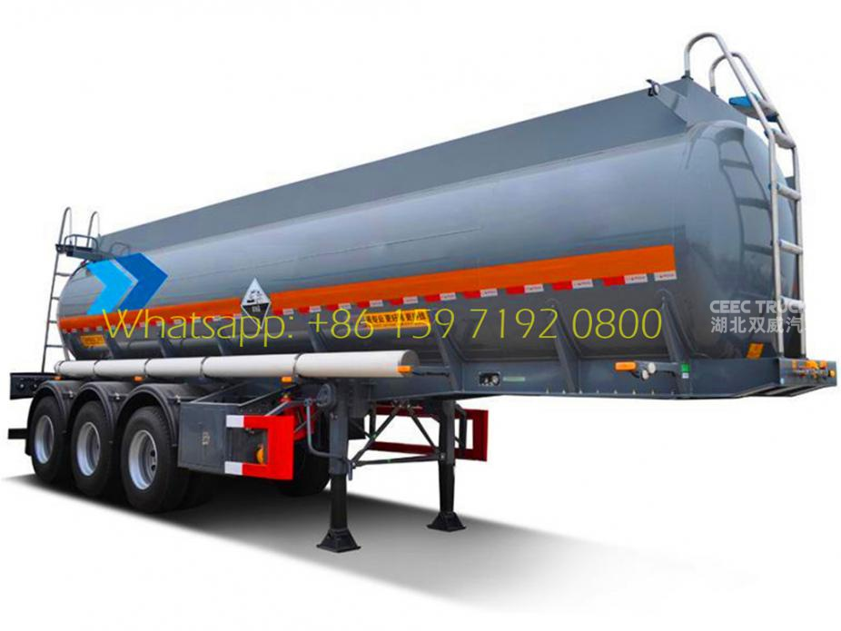 Best carbon steel 48CBM oil tank trailers