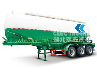 3axle bulk cement transport semi trailer