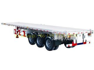 70T Bogie suspension trailer hot sale in Africa countries