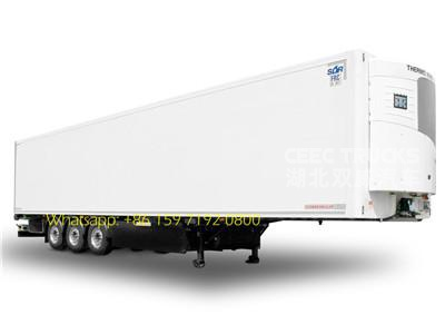 Phillippine 60 CBM refrigerated semitrailer supply