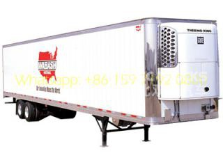 40-60 CBM refrigetated semi-trailer manufacturer lowest price sale