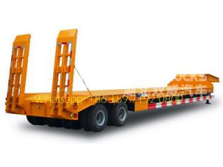 CEEC lowboy trailers 30T low bed semitrailer for sale