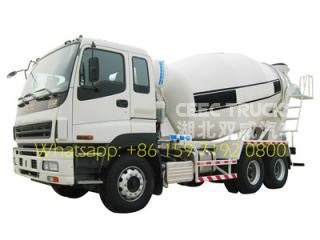 Japenses techology ISUZU 10 CBM cement transport truck Price