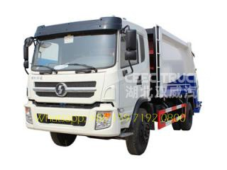 SHACMAN 10-12 m³ refuse compression vehicle maunfacturer