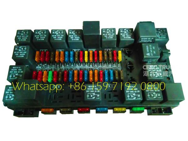 Beiben NG80B tipper truck electric control assembly supplier